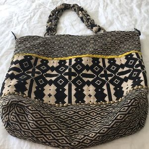 Anthropologie textile tote
